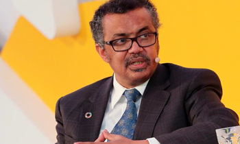 Tedros Adhanom in the healthcare industry